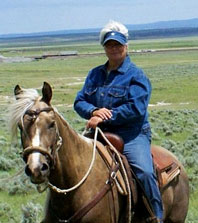 Author Portrait: Shery Jespersen, with her horse
