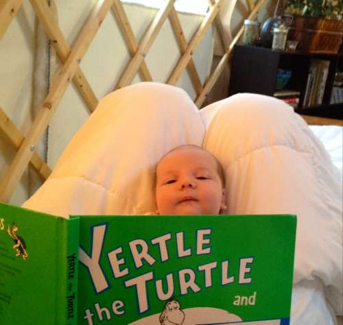 Our genius baby is already learning to read thanks to perfect gifts from friends and family.