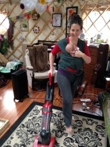 Vacuuming: My new hobby.