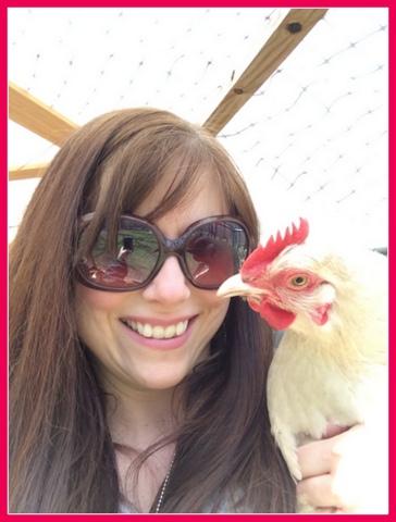 Chicken selfie. ;)