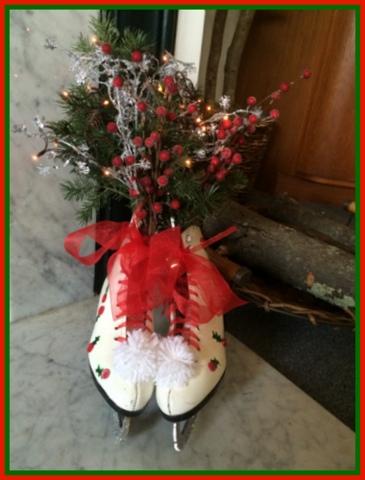 Beautiful! My finished skates...
