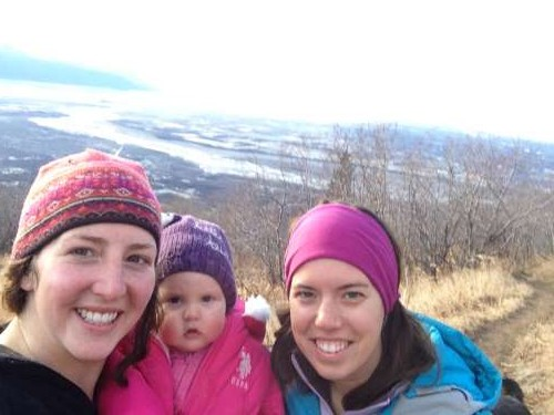 Perfect Fall weather for a Lazy Mountain hike with our mountaineering friend, Emma.