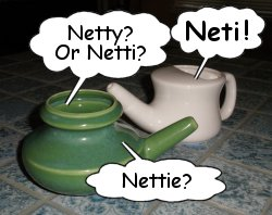 Neti Pots are the best!  Photo courtesy of Flickr user Sherrie Super, Jan. 16, 2011.
