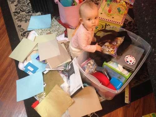"One way to ""get organized"""