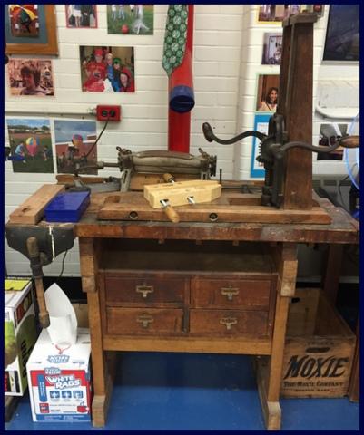This antique wood