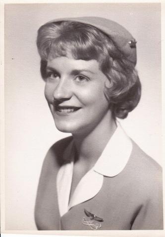 Brenda in uniform