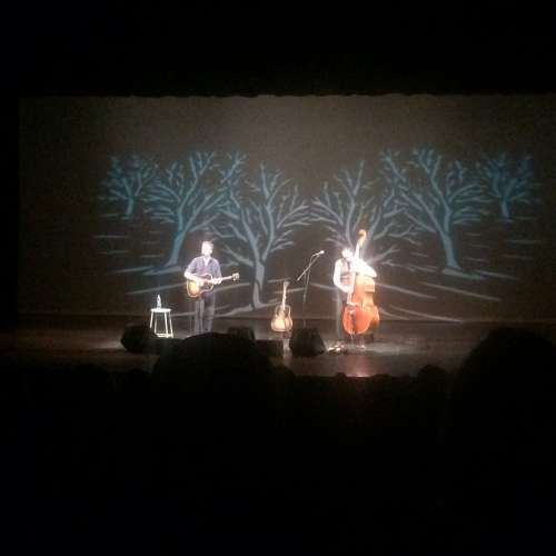 Josh Ritter at the Glenn Massay Theater in Palmer, Alaska.