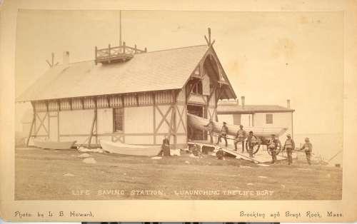 Gurnet L.S.S. Boathouse