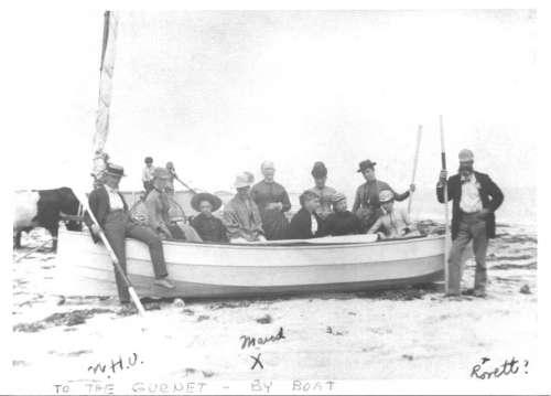 Gurnet by Boat
