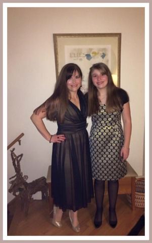 """I love this picture of my daughter and me at the holidays. We ended the year on a great note, and I am feeling like """"me"""" again."""