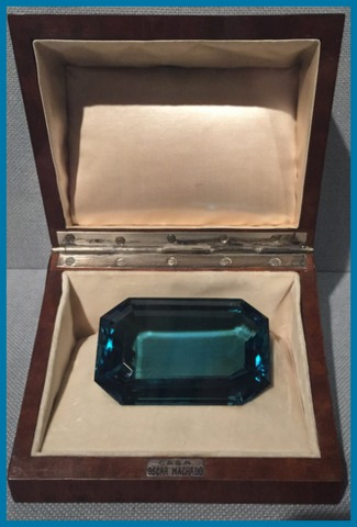 This is an aquamarine!