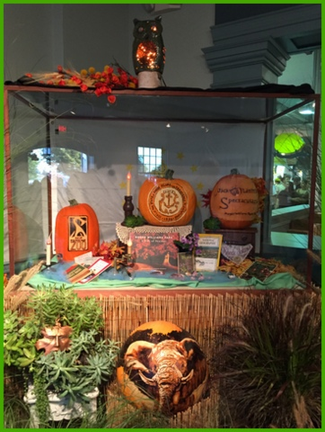 In the Rhode Island hall, I want to go visit the Roger Williams Park Zoo this fall (http://www.rwpzoo.org/) after seeing their pumpkin display.