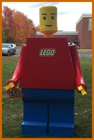 Here's a VERY large LEGO man!