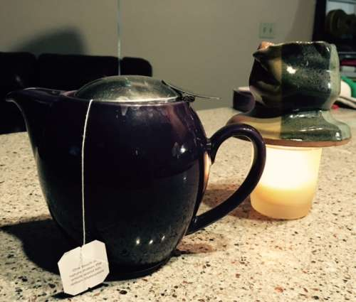 Tea is good for the soul, too.  It is also a great beverage to accompany the lackadaisical methods that broths require.