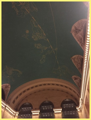 When you're in Grand Central Station, look up!