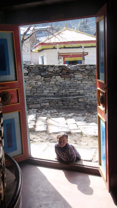 The innocent curiosity of children is something I will always hold dear from my time in the Himalaya.  These kids are pretty big, now!