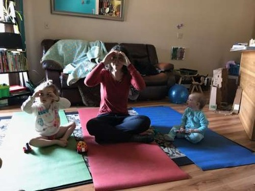Family reboot with some yoga!