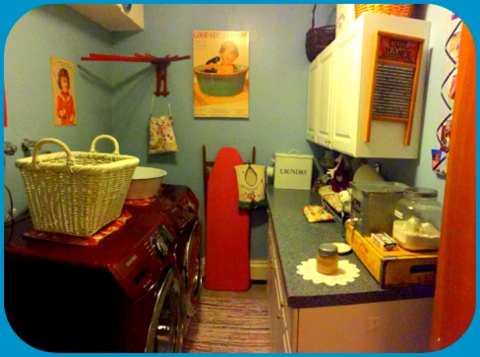 Panoramic of my laundry room