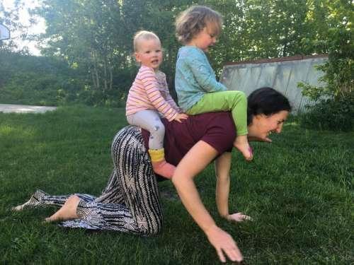 Motherhood: A journey to becoming a beast of burden.
