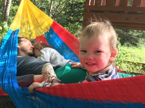 Time in the hammock!