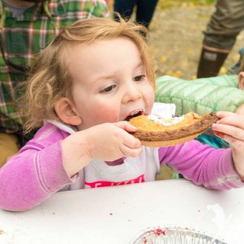 Pie eating contests!  She did disturbingly well...