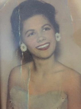 My beautiful mom in the 1950's..