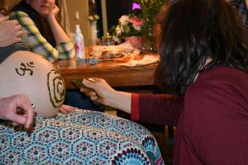 Belly Henna!