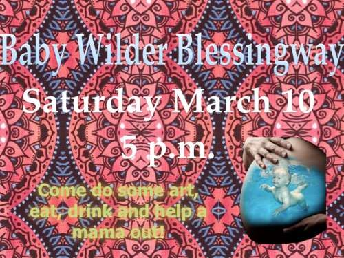 Invitation for my Blessingway