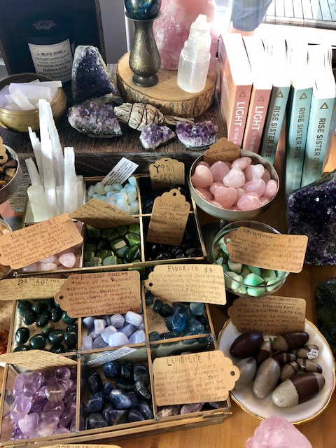 Rocks and oracles and spiritual things, oh my!