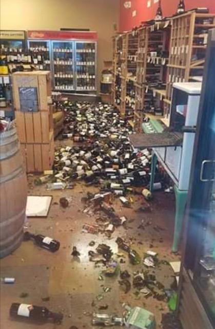 Liquor store sadness