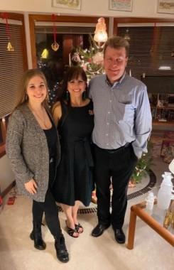 The Christensen family, Dec. 2019