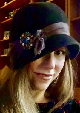 I love the chance to wear a vintage hat!