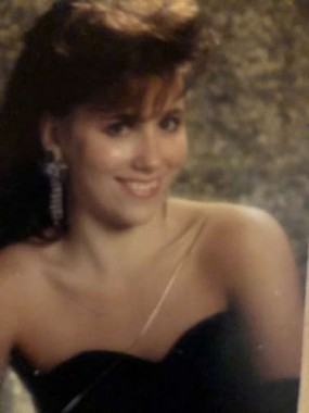 "OH.MY.GAWD! 1990 prom ""glamour shot"" that was done for all the girls at my prom. Can it get any more CHEESY! Gotta laugh..."