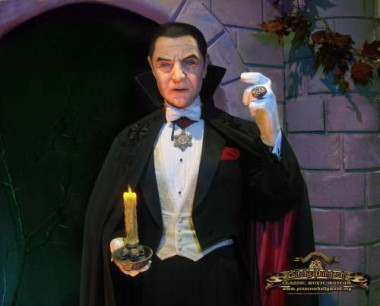Bela Lugosi as Count Dracula (Photo courtesy of Cortlandt Hull)