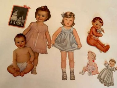 "There are all sizes; I love that there is a photo of the real babies the ""sisters"" are supposed to look like."