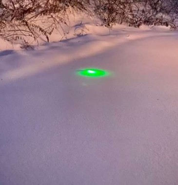 I'd love to show you my outside lights, but after last night's blizzard, I have to find them...