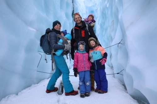 Glacier explorers!